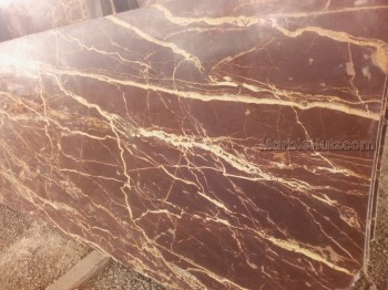 Cherry Red Marble